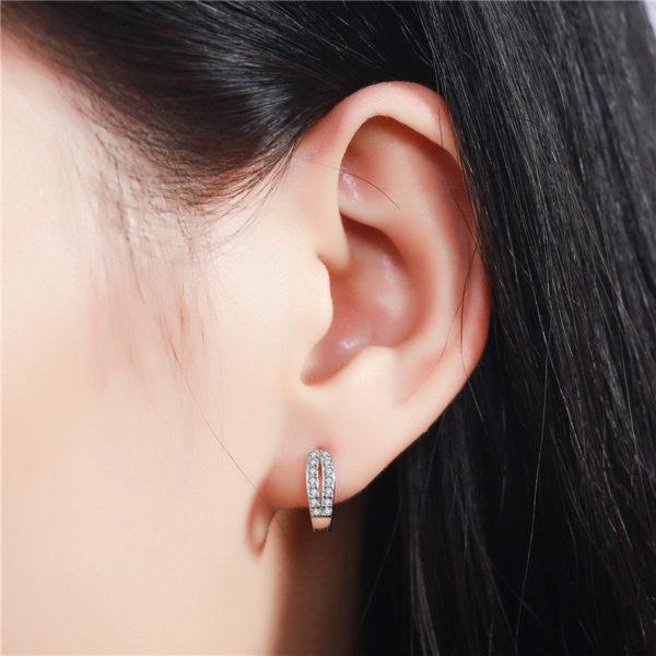 戀.水晶耳環