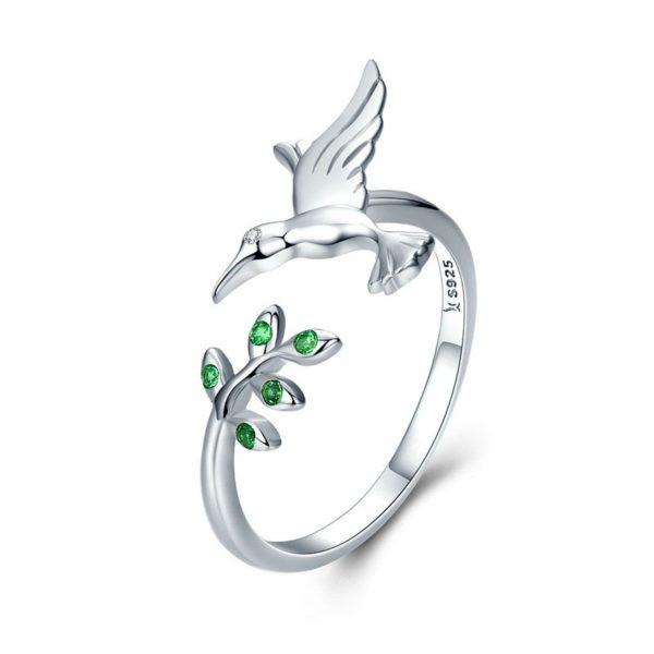 生生不息‧蜂鳥 925純銀戒指