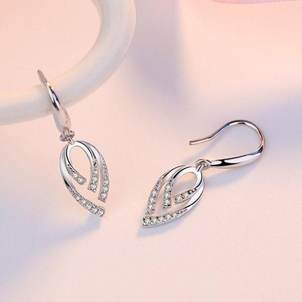 生命的樂章鍍銀耳環