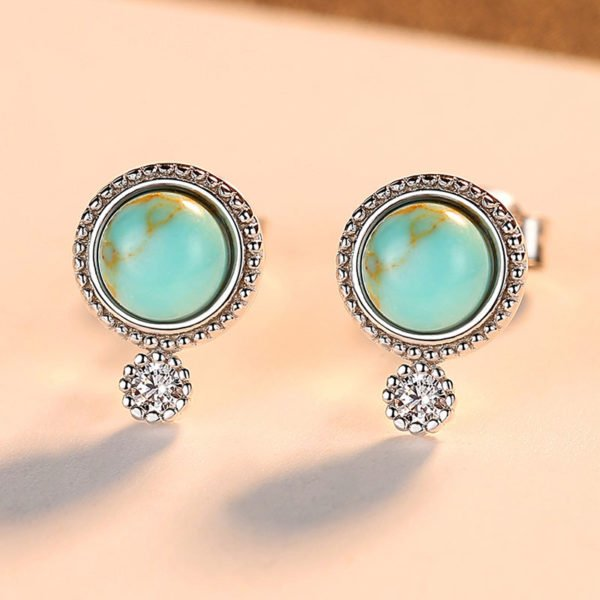 艾拉波西米亞風 925純銀耳環