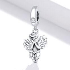 祈禱小天使 925純銀鍊墜