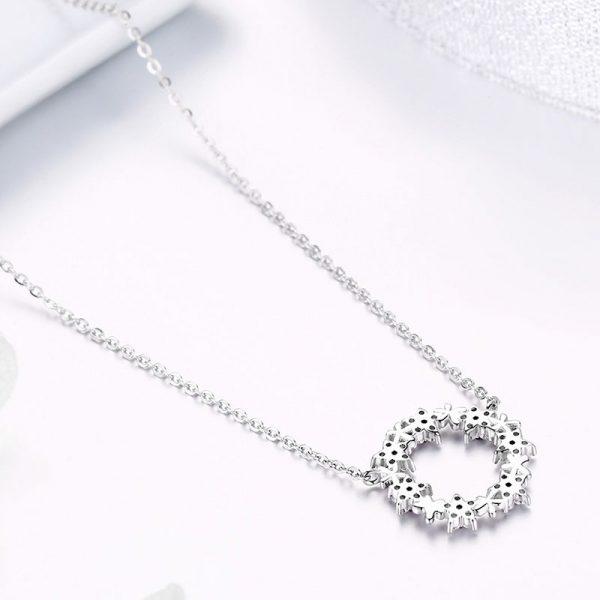 春天的花園 925純銀鋯石項鍊